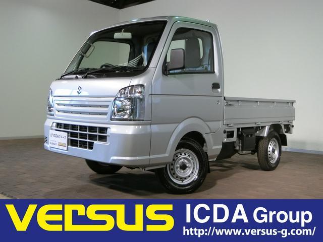 キャリイトラック KCエアコン・パワステ /届出済未使用車 5MT 4WD